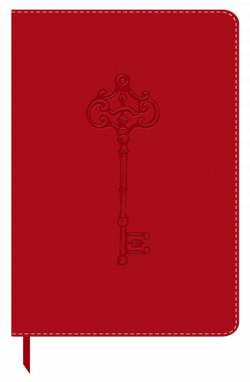 Leatherlook Red Journal