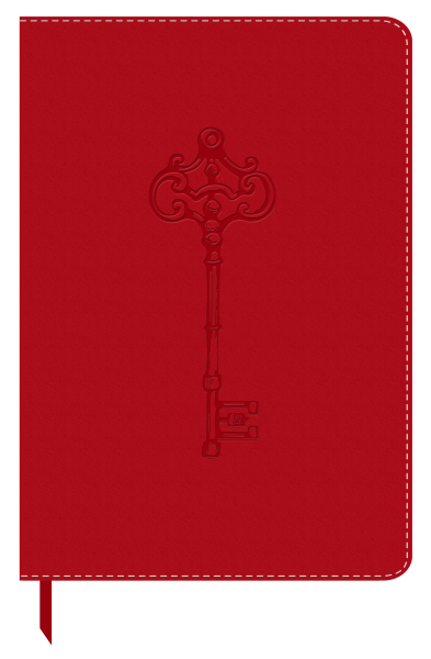 Leatherlook Red – Antique Key