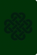 Soft Leatherlook Green – Celtic Knot
