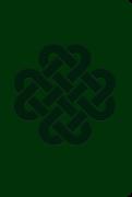 Soft Leatherlook Green – Celtic Knot