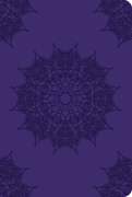 Soft Leatherlook Purple – Royal Mandala