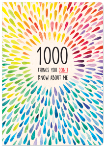 1000 Things You Don't Know About Me