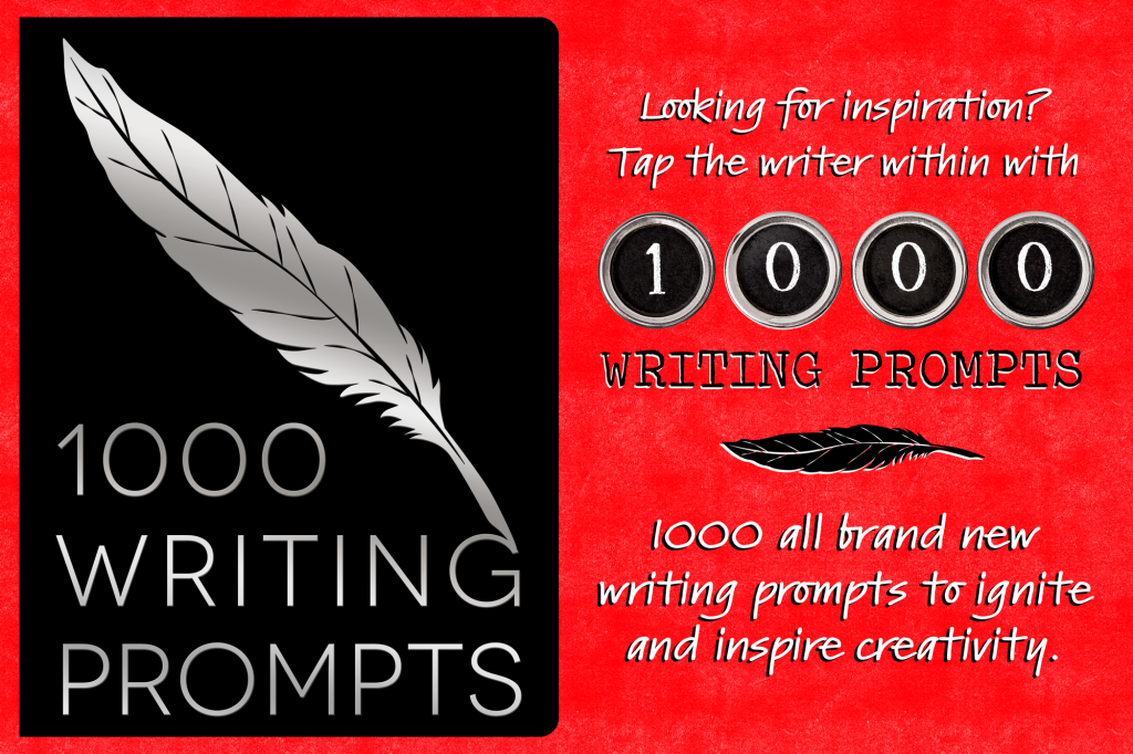 1000 Writing Prompts graphic