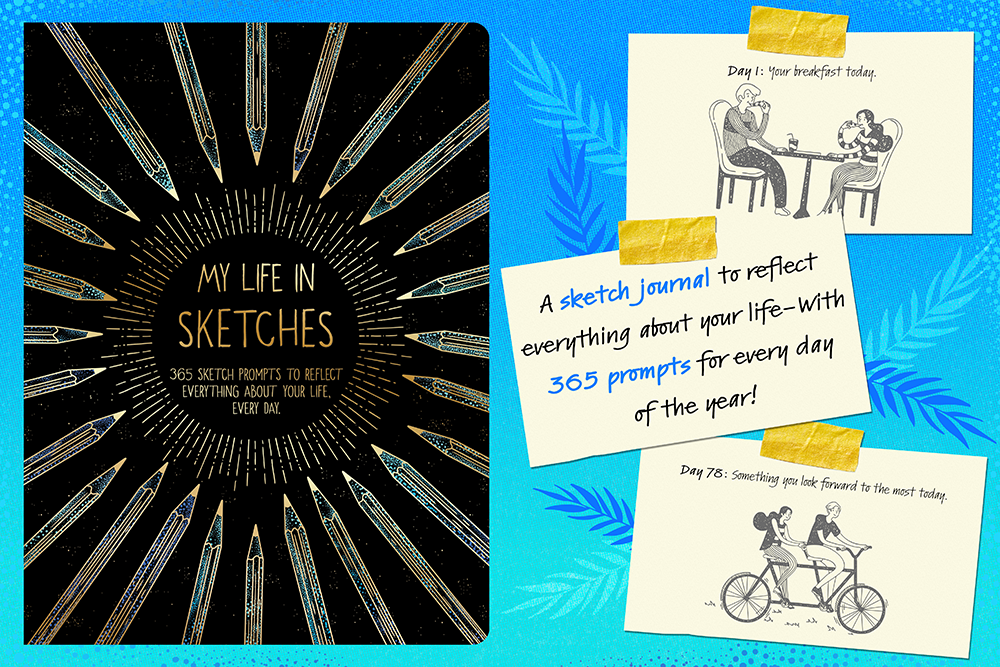 My Life in Sketches graphic