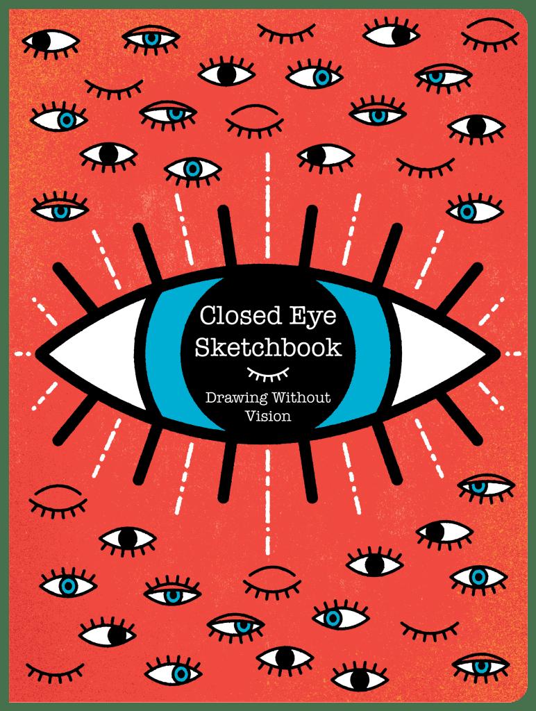 Closed Eye Sketchbook Cover